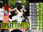 Eliud Kipchoge makes history