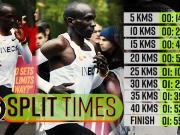 Eliud Kipchoge makes history