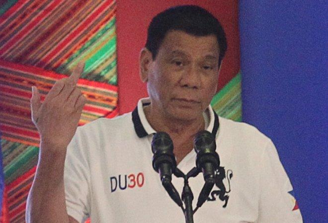 Philippine President Duterte bursts into rant against European Union over drug war