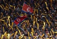 North Korea vs South Korea football match