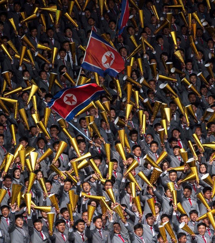 North Korea vs South Korea football match