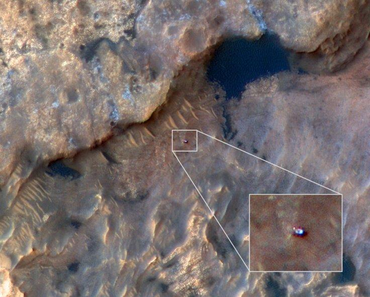 NASA's Mars Reconnaissance Orbiter takes clearest photo of ...