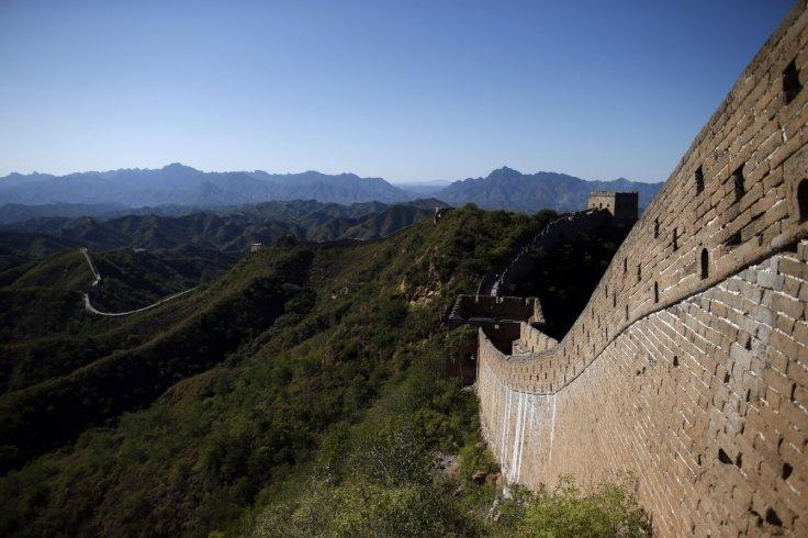 World's worst maintenance project? Section of China's Great Wall smeared with cement