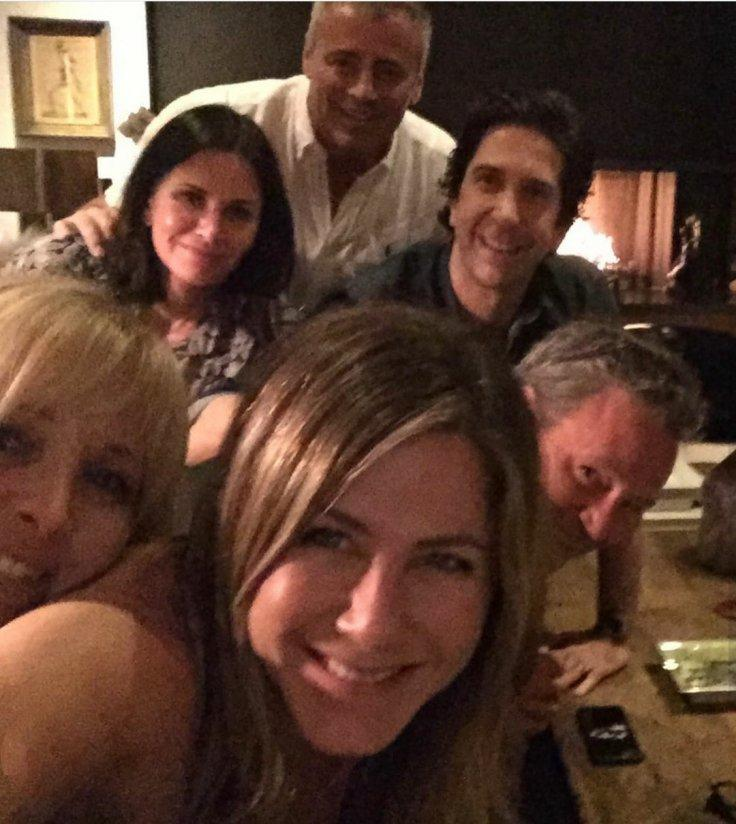 Jennifer Aniston Friends Reunion Instagram