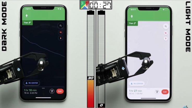 iPhone Dark Mode vs Light Mode