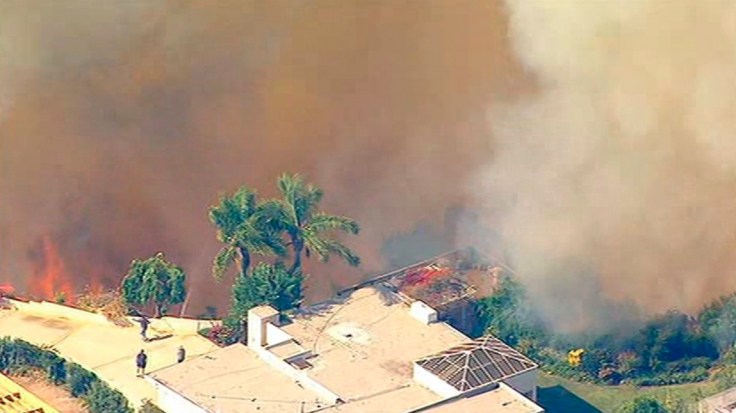 Pacific Palisades brush fire