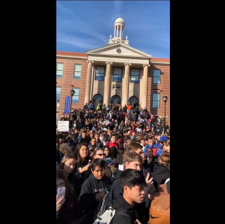 School protests