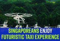 Volocopter air taxi in Singapore
