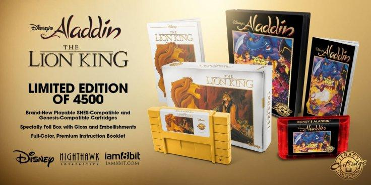 The Disney Classic Games: Aladdin and The Lion King