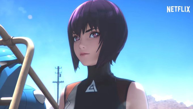 First Ghost in the Shell: SAC_2045 Netflix Series Trailer Is Gorgeous