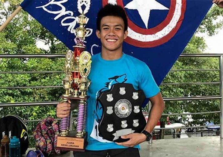 Sarawak swimmer Ayrton Lim