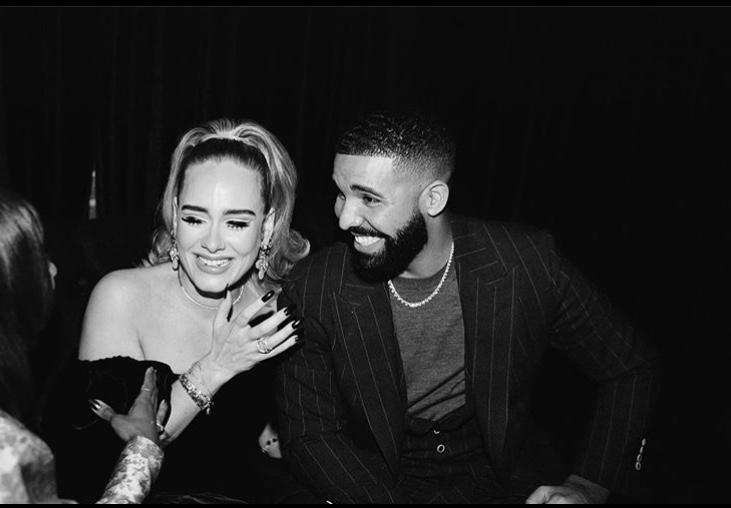Adele and Drake