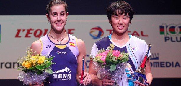 AN Se Young Carolina Marin