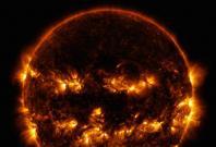 NASA SDO Image: Jack-o-Lantern Sun