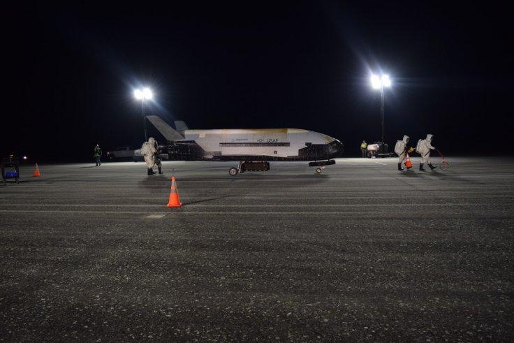 US secret space plane