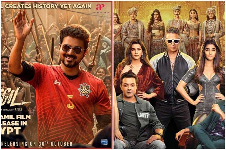 Vijay's Bigil takes on Akshay Kumar's Housefull