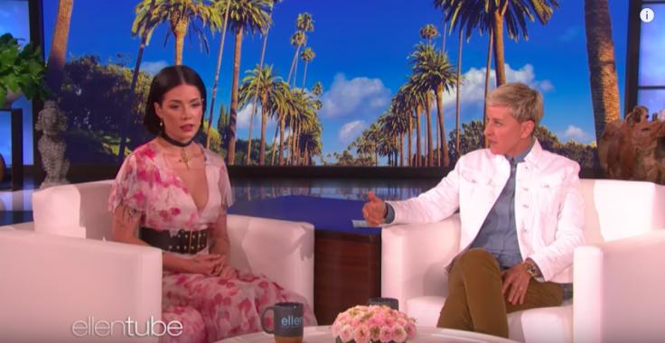 Singer Halsey addresses Evan Peters as 'boyfriend'