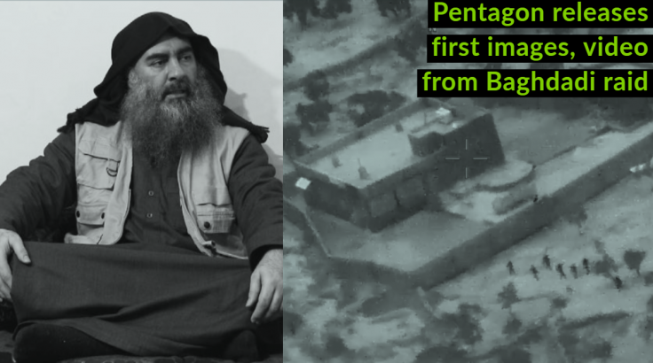 Pentagon releases first images, video from raid to kill Abu Bakr al Baghdadi