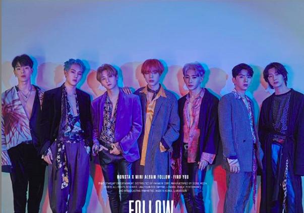 Poster of Monsta X including Wonho