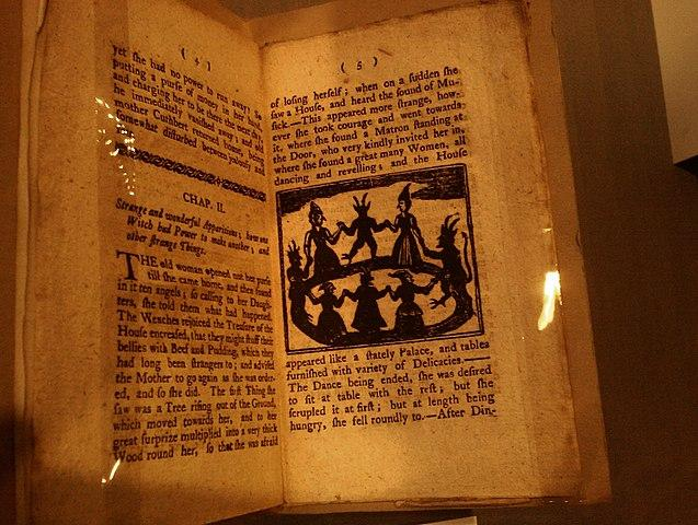 History of the Lancashire Witches is in the John Rylands Library in Manchester