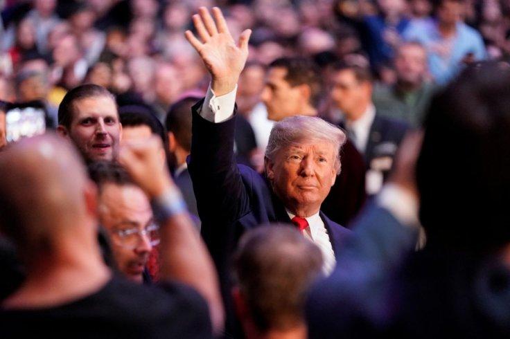 Donald Trump at UFC event