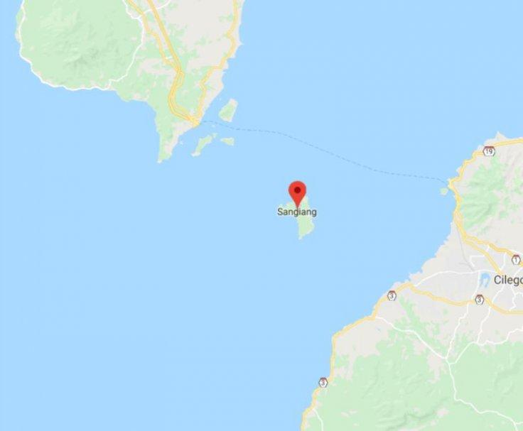 The three divers were last seen Sangiang Island