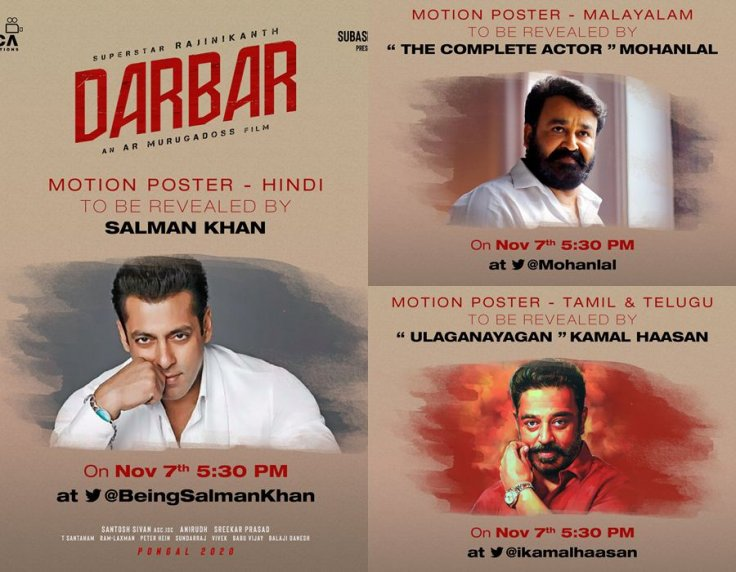 Darbar Motion Poster Release