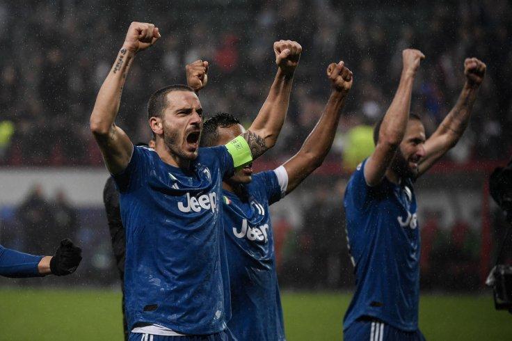 Juve's Leonardo Bonucci