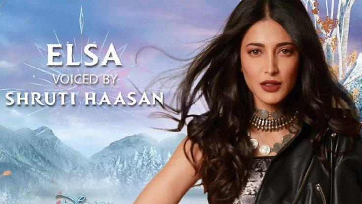 Frozen 2 Shruti Haasan as Elsa