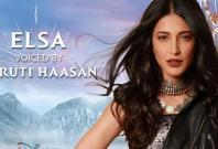 Frozen 2 Shruti Haasan as Elsa