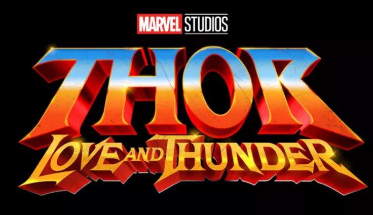 Thor: Love and Thunder logo Marvel