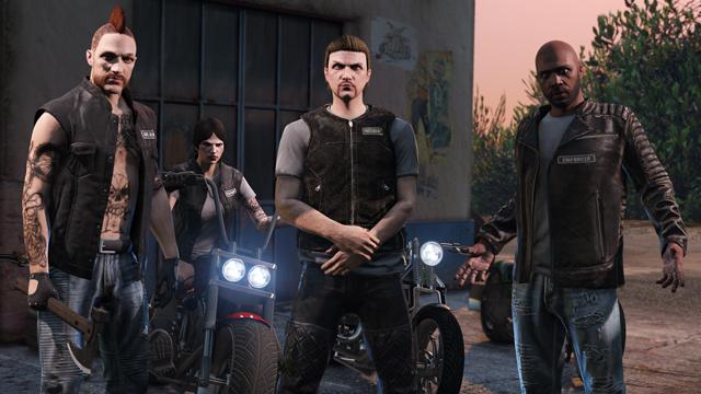 GTA 5 Online: Biker DLC