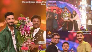 Super Singer winner Mookuthi Murugan