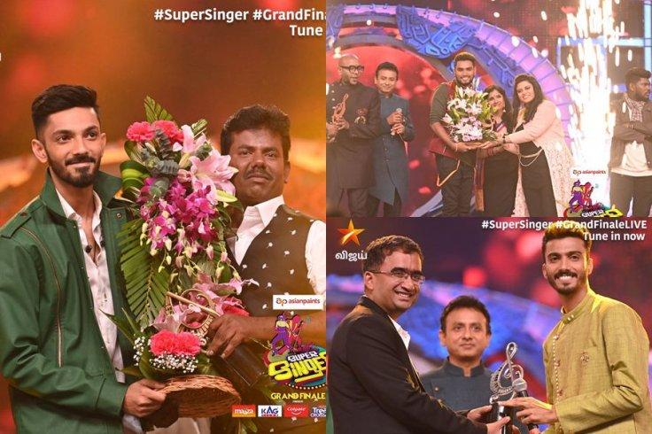 Super Singer winner Mookuthi Murugan