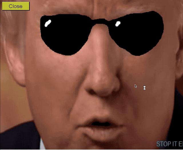 Donald Trump Screen of Death