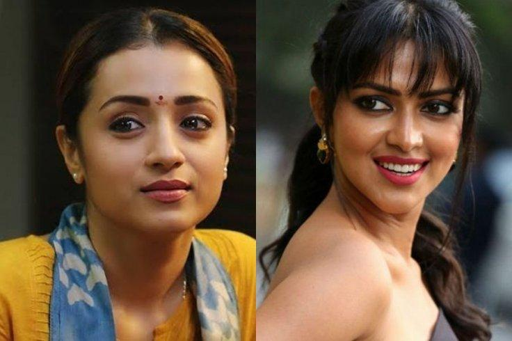 Trisha Krishnan and Amala Paul