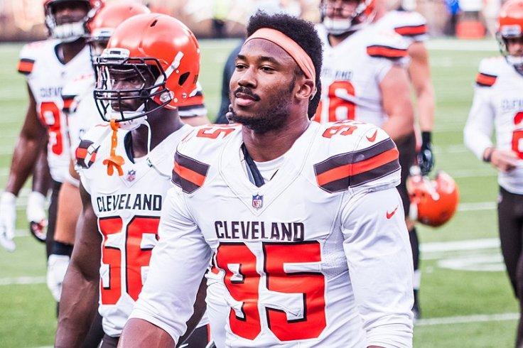 Cleveland Browns' Myles Garrett