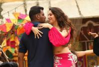 Vishal and Tamannaah in Action