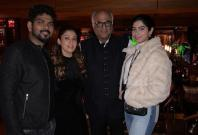 Nayanthara and Vignesh with Boney Kapoor