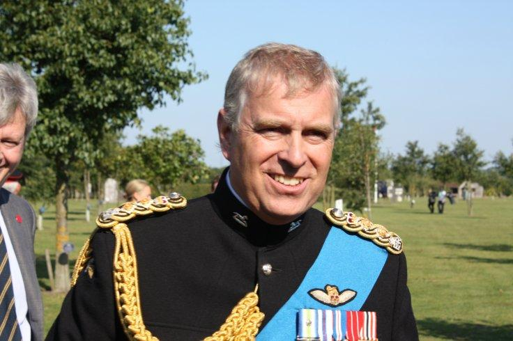 Prince Andrew at the National Memorial Arboretum, Alrewas, 1st September 2011