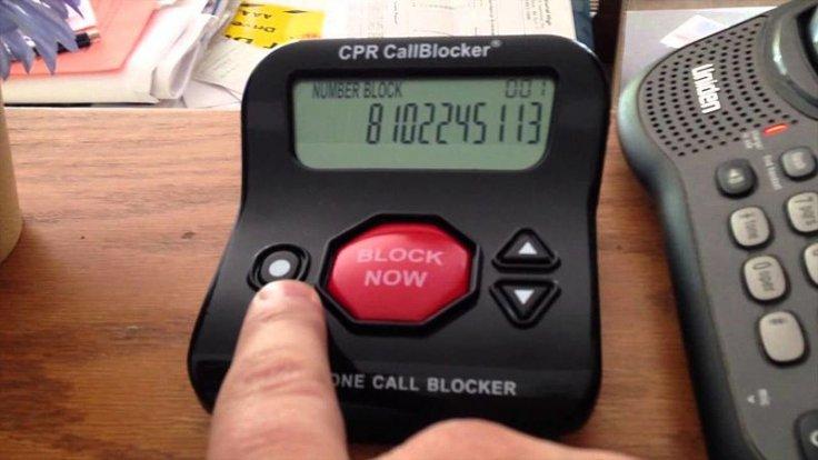 Robocall blocker