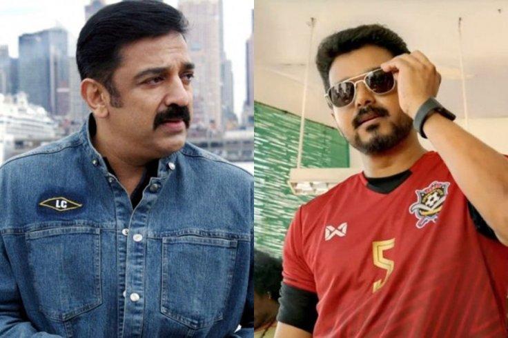 Kamal Haasan and Vijay