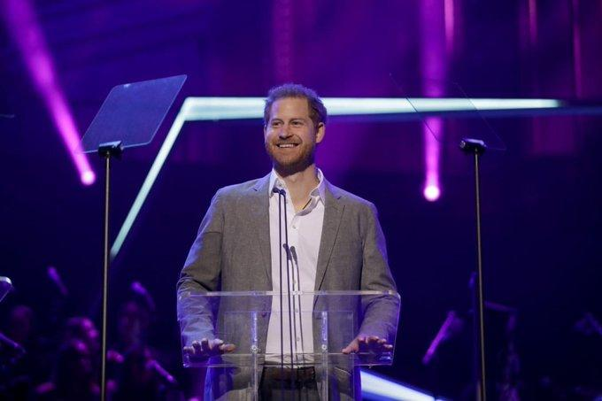 Prince Harry OnSide Awards