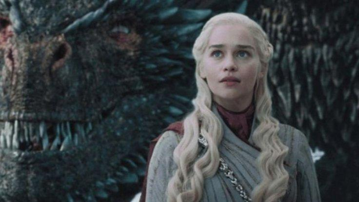 Emilia Clarke in Game of Thrones.