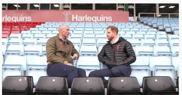 Gareth Thomas Prince Harry Terrence Higgins Trust