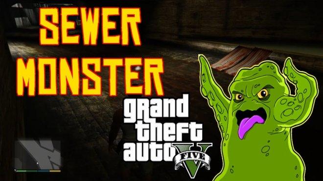 GTA 5 Online: Sewer monster mystery debunked