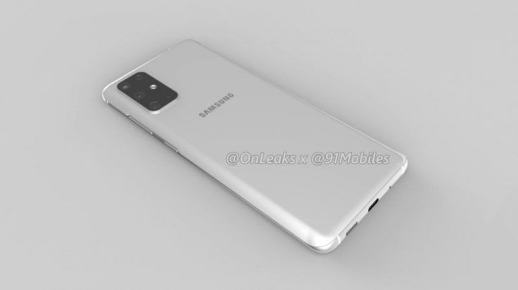 Samsung Galaxy S11 in white colour