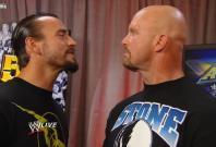 CM Punk and Stone Cold Steve Austin