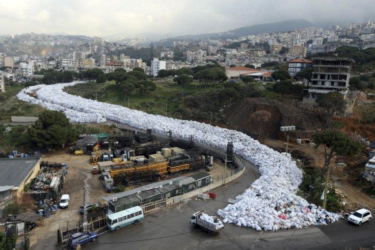 Beirut's river of garbage