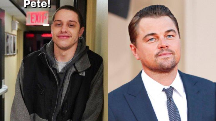 Pete Davidson and Leonardo DiCaprio